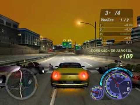 Need For Speed Underground 2 ทดสอบรถแข่งความเร็ว