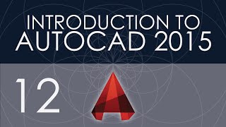 Intro To Autocad 2015 - 12 - Blocks
