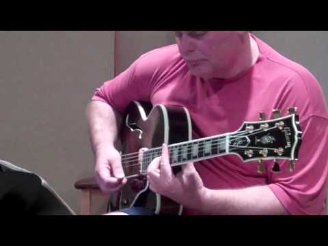 Paul McCallum and Paul Weitz jazz guitar duo at DBW Productions