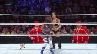 WWE Main Event - The Funkadactyls vs. The Bella Twins: March 27, 2013
