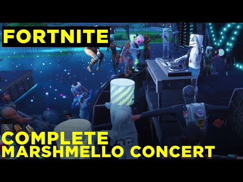 How to watch the Marshmello concert in Fortnite