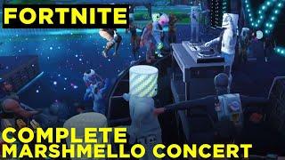 Fortnite Marshmello concert (Complete)