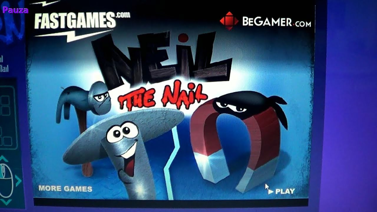 Tymon plays Neil the Nail game - walkthrough - YouTube