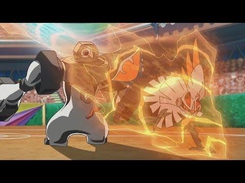 Ash Vs Gladion - Alola League Finals - Pokemon SM AMV