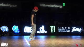 AT Vs Ayumi | B-GIRL Semi | Silverback Open 2016 | Pro Breaking Tour | BNC