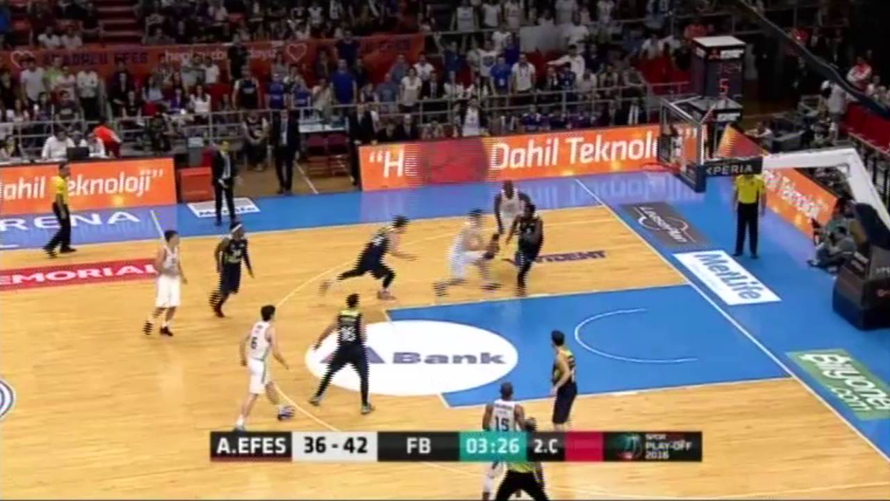Anadolu Efes - Fenerbahçe Final Serisi 2. Maç - Asistler