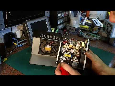 Cheap V Not Cheap ATX PSU taredown and parts salvage
