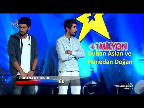 Hanedan Dogan & Duhan Aslan - Kadına Şiddete Hayır ( Yetenek Sizsiniz Türkiye Final )
