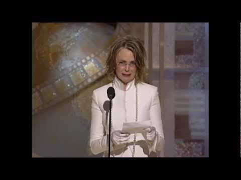 Diane Keaton Wins Best Actress Motion Picture Musical or Comedy  Golden Globes 2004