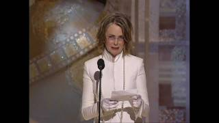 Diane Keaton Wins Best Actress Motion Picture Musical or Comedy - Golden Globes 2004