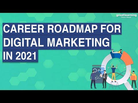 Career RoadMap for Digital Marketing in 2021 | Digital Marketing for Beginners | Great Learning