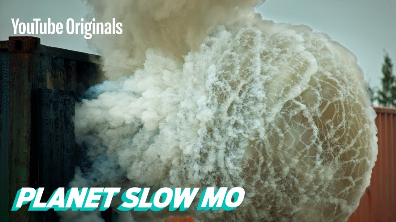 4K Slow Motion Backdraft