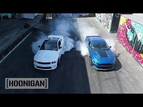 [HOONIGAN] DT 073: 750HP Roush RS3 2017 Mustang vs 550HP '06 Mustang w/ Justin Pawlak