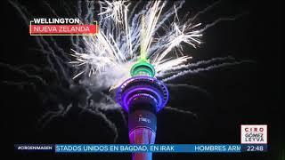 Así recibió el mundo el Año Nuevo 2020 | Noticias con Ciro Gómez Leyva