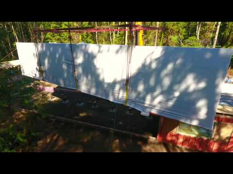 Greenfab Homes - Whidbey Island - Forest Path