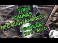 Top 5 causas-porque se Recalienta tu auto-Why Overheat your car.Renault 9.