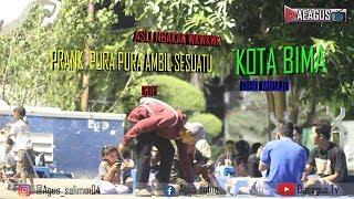 PRANK PURA-PURA AMBIL SESUATU  NGGAKAK !!!!! (BIMA)