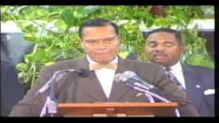 Beating Prophecy pt 2 Honorable Minister Louis Farrakhan 7/10