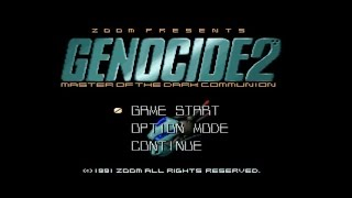 X68000 GENOCIDE2 (ジェノサイド2) TA (タイムアタック) with MT-32 39m11s 60fps