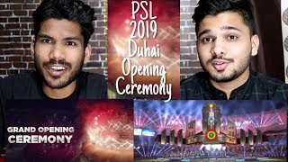 PSL 2019 Opening Ceremony | M Bros Reaction