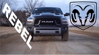The Most Badass RAM Available!   RAM 1500 Rebel Review