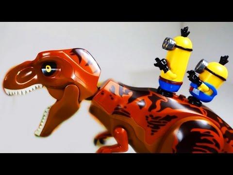 ДИНОЗАВРЫ. ЛЕГО МИНЬОНЫ. Приключения Миньонов и Динозавров Мультики для детей на русском Игрушки ТВ