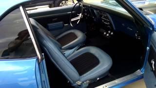 1968 Camaro RS interior