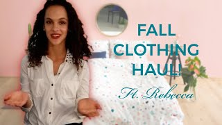 Rebecca's Fall Clothing Haul! Thumbnail