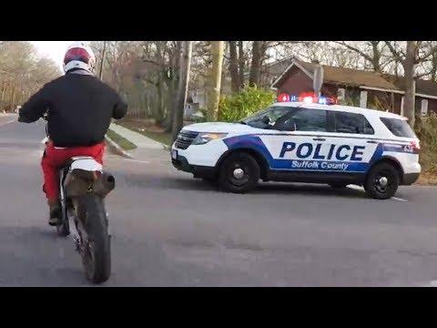 Cops Vs Bikers - Police Chase Dirt Bikers [Ep.#67]