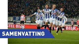 Samenvatting sc Heerenveen - PSV (18/19)