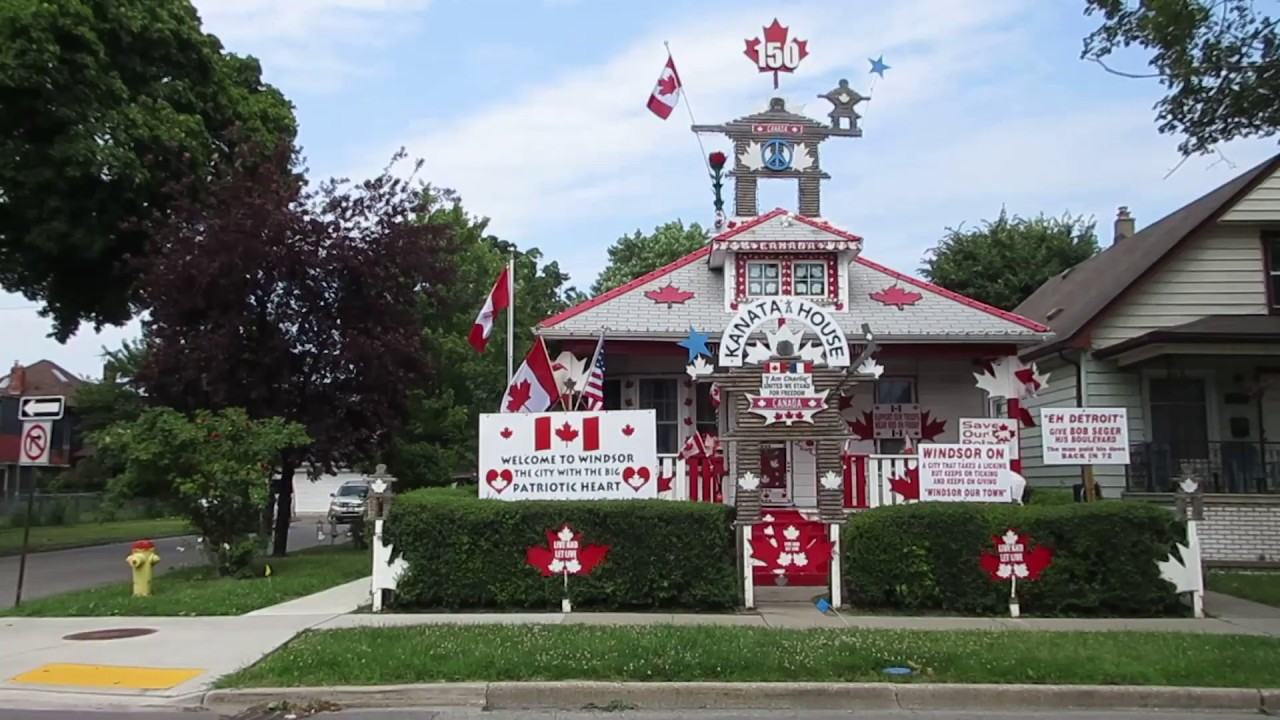 Kanata House on Lincoln Road in Windsor Ontario Canada