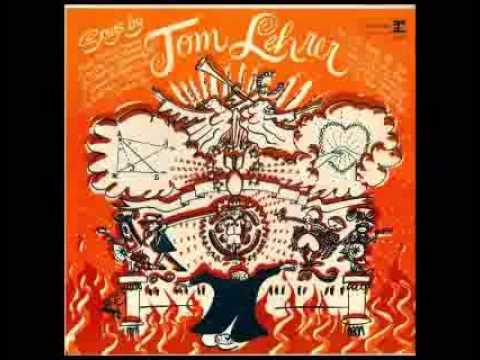 Songs by Tom Lehrer (1966 Reprise edition) Full Album