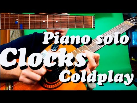 Guitar chords: Piano Solo Coldplay - Clocks - YouTube