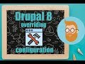 Drupal 8 overriding configuration in settings.php