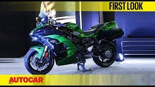 Kawasaki Ninja H2 SX | Auto Expo 2018 | First Look | Autocar India