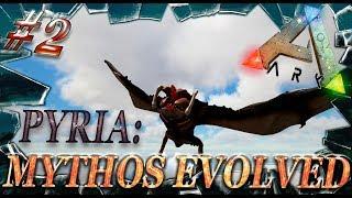 ARK: Survival Evolved спавн дино на карте Ragnarok мод Pyria: Mythos Evolved (моды в Арк)