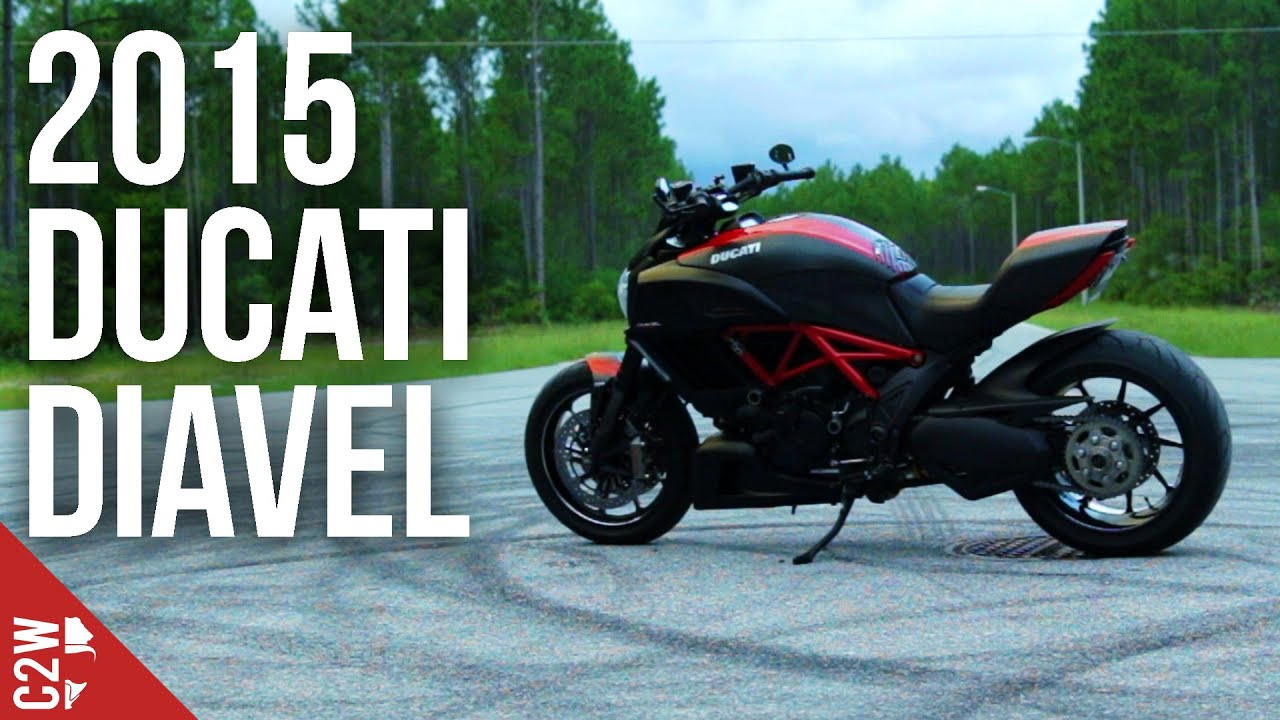 2015 Carbon Ducati Diavel | First Ride - YouTube