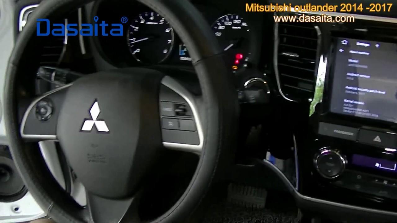 Mitsubishi Outlander Installing Dadaita Android Head Unit Fit Years 2014 2015 2016 2017 Youtube