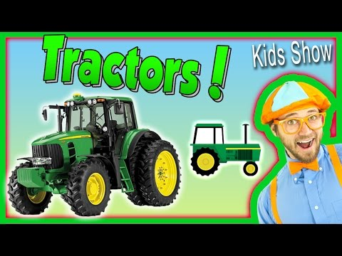 Thumbnail: Tractors for Kids – Learn Farm Vehicles and Equipment with Blippi