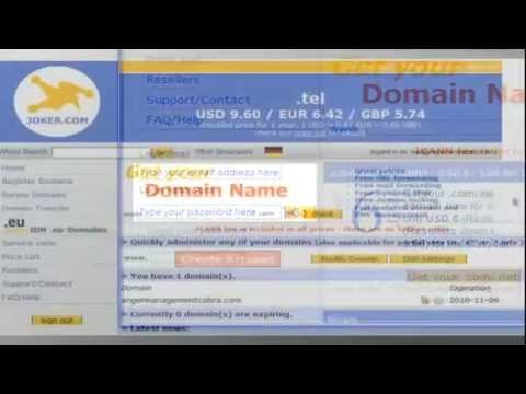 Transfer domain from joker.com