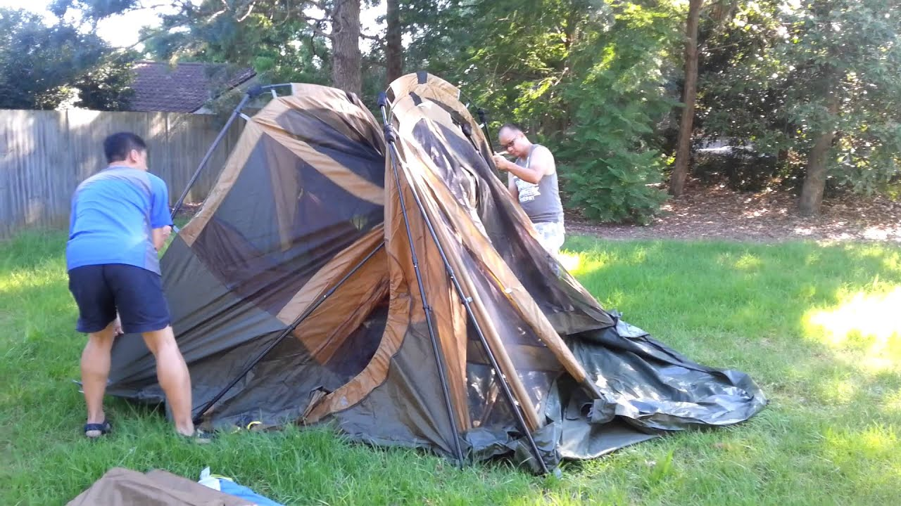 Coleman Instant 8 Gold Tent & Coleman Instant 8 Gold Tent - YouTube