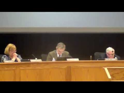 Cleveland County School Board Meeting 02-24-2014