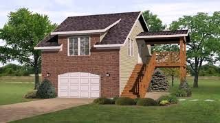 Bungalow House Plans With 2 Car Garage