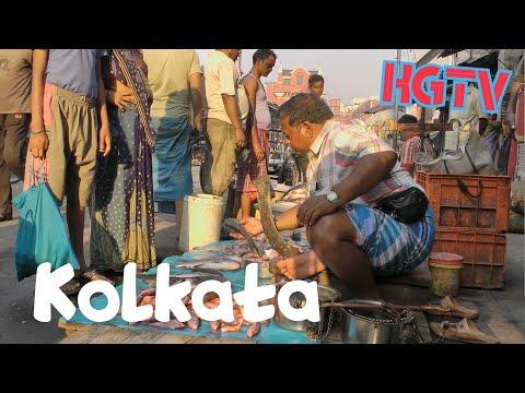 Calcutta (Kolkata) India : a walk
