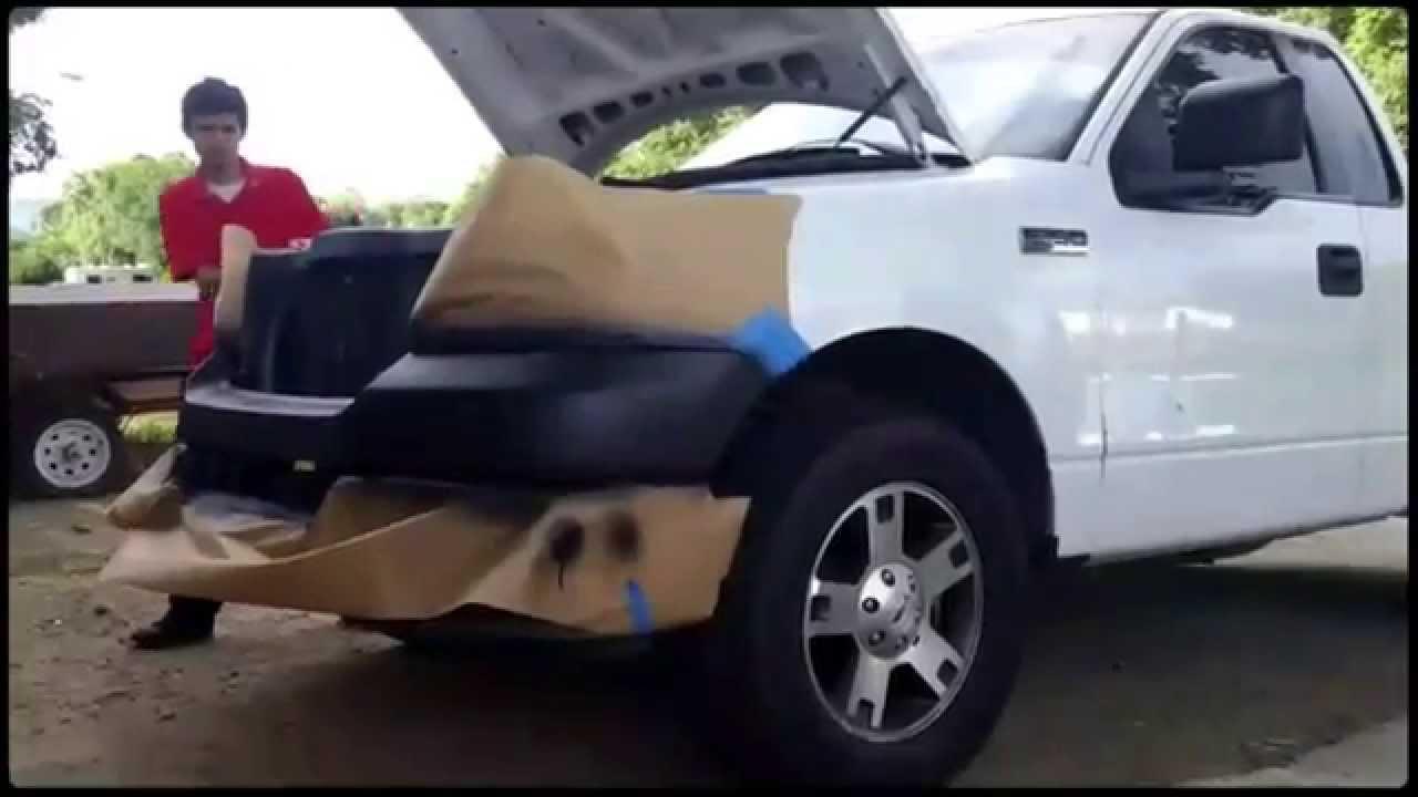 05 ford f150 bumper grill p2 [ 1280 x 720 Pixel ]