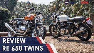 Royal Enfield 650 Twins India Ride Review | NDTV carandbike