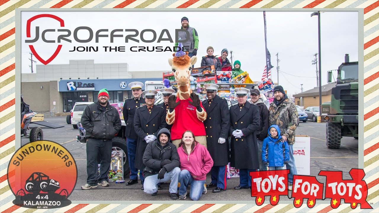 Toys For Tots Rating : Jcroffroad sundowners toys for tots youtube