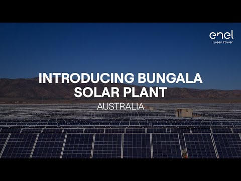Bungala Solar, the first photovoltaic plant in Australia by