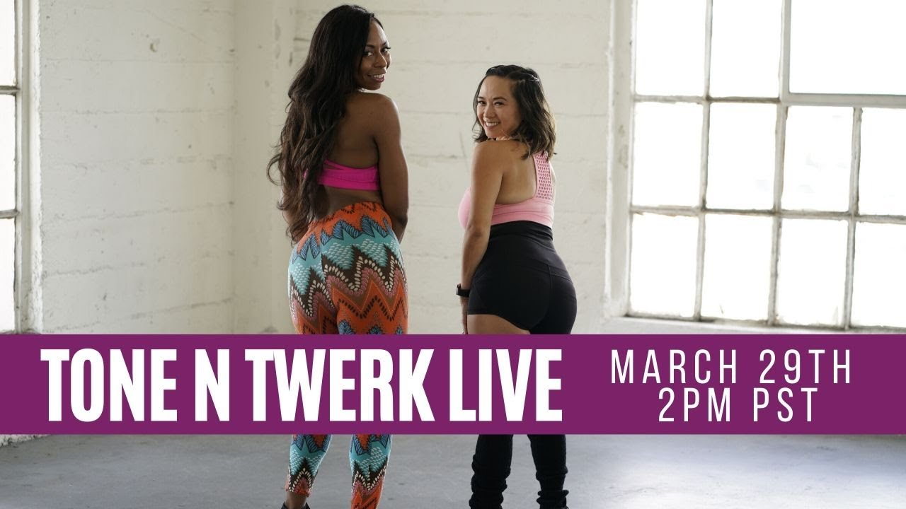Tone N Twerk LIVE With Nicole Steen | Quarantine Workout Series