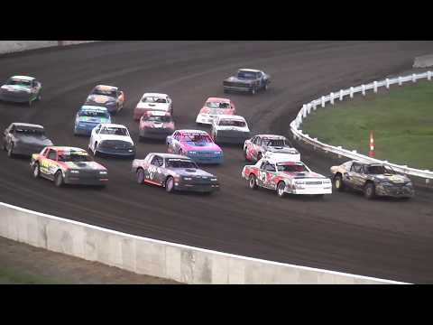 40th Annual Yankee Dirt Track Classic Stock Car feature Farley Speedway 9/2/17